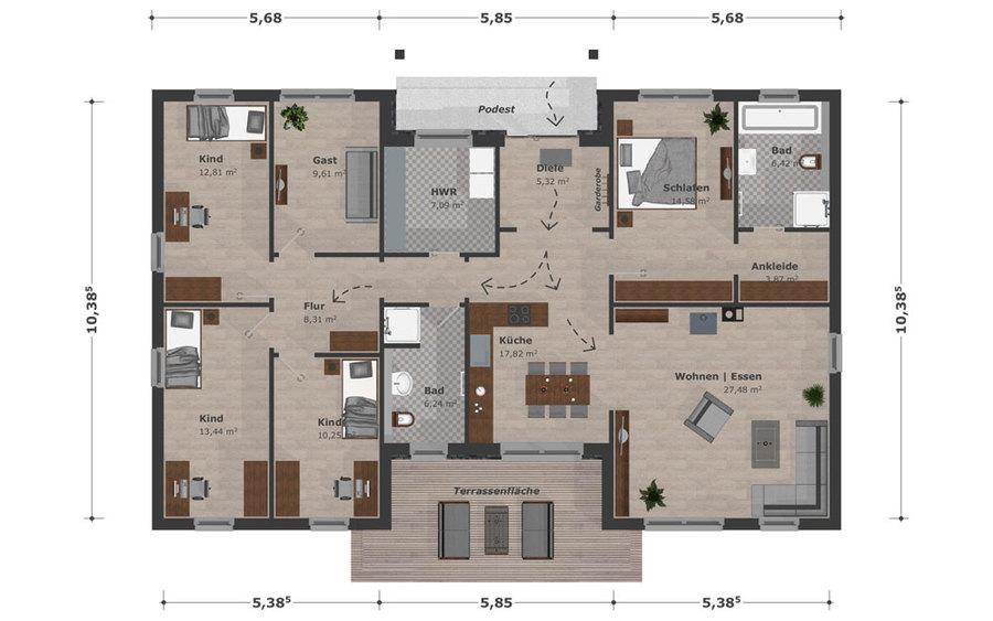 bungalow gro familie schwesig s hne gmbh. Black Bedroom Furniture Sets. Home Design Ideas